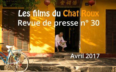 La revue de presse du Chat Roux n°30