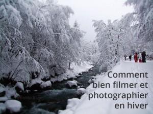 Bien filmer et photographier en hiver peut s'avérer compliqué. BoMontage vous donne des astuces de prises de vue pour réussir de belles images hivernales.