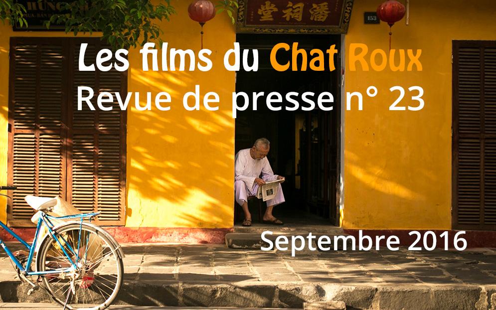 La revue de presse du Chat Roux n°23