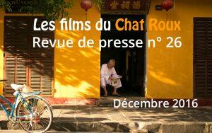 Tout ce que vous devez savoir en photo et en vidéo sur les smartphones, optiques, conseils, accessoires, se trouve dans la revue de presse du Chat Roux du mois de décembre.