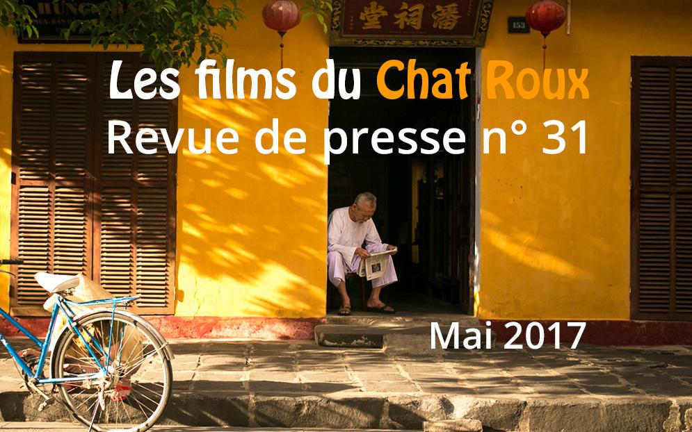 La revue de presse du Chat Roux n°31