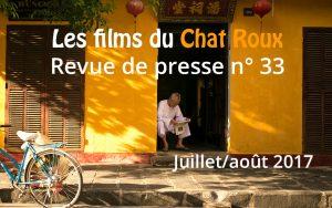 L' actualité de la vidéo mobile et de la smartphotographie de l'été, condensée dans la revue de presse des films du Chat Roux.